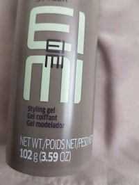 Wella Professionals styling gel  Montreal