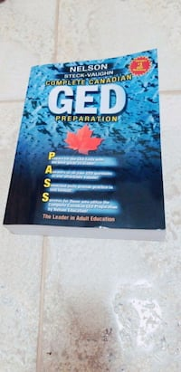 Completely GED All subject study guide book Edmonton, T6X 1L3