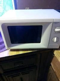White Emersn microwave oven  Conway, 72034
