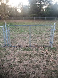 Chain link fence and gates
