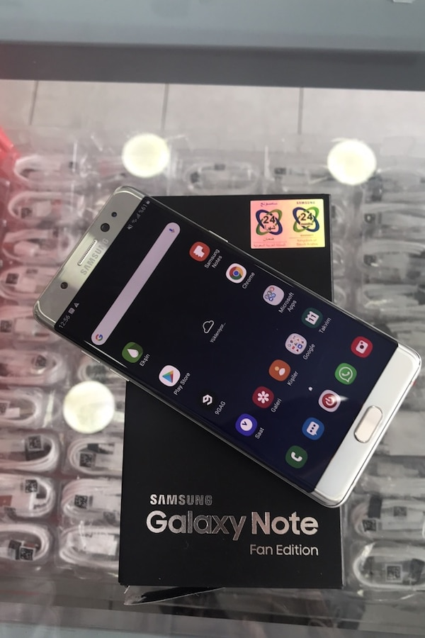 Tertemiz Samsung galaxy note fan edition 64 gb 37c158ab-9a8c-4291-83a5-a421342140fb