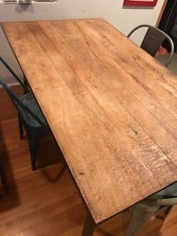 Rustic dining room table  Los Angeles