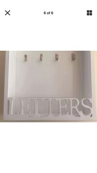 Letter/Key wall holder