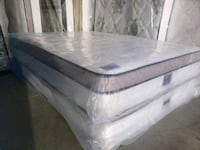 Brand new double / full  mattress, extra thick eurotop. Delivery 30 Edmonton, T6T 1J3