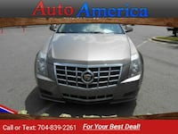 2012 Caddy Cadillac CTS Gray sedan