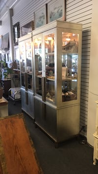 Very large silver gilded display cabinets San Jose, 95128