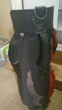 Wilson cart bag with all way dividers