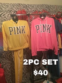 2pc PINK SET'S TOP AND PANT Oak Lawn, 60453