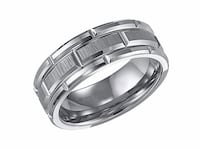 Triton Tungsten Carbide Wedding  Ring