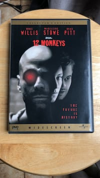 12 Monkeys DVD Movie