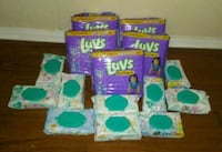 Luvs diapers and Pampers Wipes bundle Wilmer, 36587