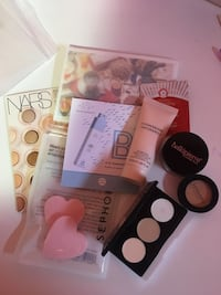 Bags of makeup and skin care samples and products  Windsor, N8N 5A1