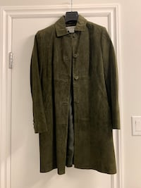 Dark green suede women jacket - size 34 Toronto, M5S 1M2