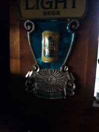 gray and blue LIght Beer can wall art Covina, 91722