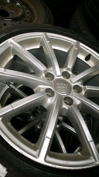 Audi rims and tires Vaughan, L4L 8A8