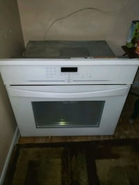 Kenmore elite white in wall electric oven  Tampa, 33604
