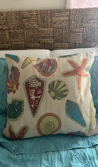 Beach Shell Decorative Pillow