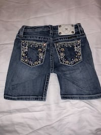 Miss Me Girls jean shorts. Size 10. West Point, 31833