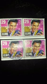 1993 Elvis 29¢ collector stamps. Los Angeles, 90006