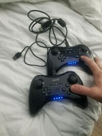 2 wii u controls with 2 chargers Houston, 77063