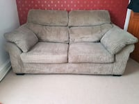gray fabric DFS 2-seat sofabed Birkenhead, CH41 0BB