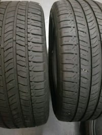 P225/50R17 Two Michelin Tires    38 km