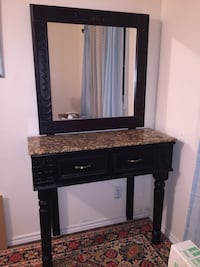 Hair salon vanity with granite countertop  Innisfil, L9S 2K7