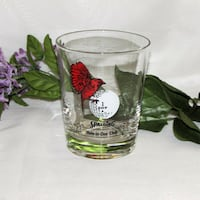 Spalding Hole-in-One Club Golf Bar Glass 2 available