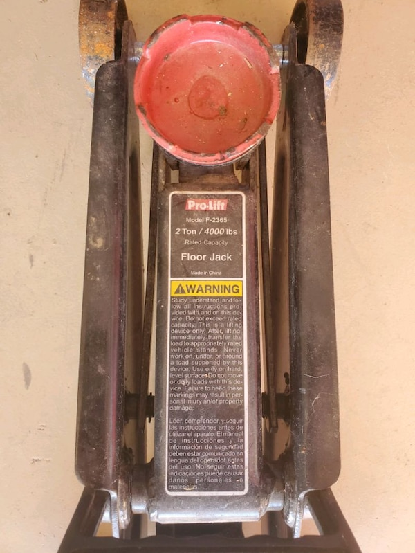 Used Pro Lift 2 Ton 4000 Pound Floor Jack For Sale In Clarksville