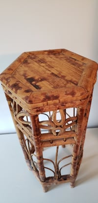 Bamboo plant stand Frederick