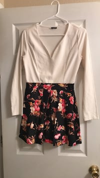 black and pink floral sleeveless dress El Paso, 79934