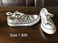 pair of white Converse All Star low-top sneakers Champaign, 61821