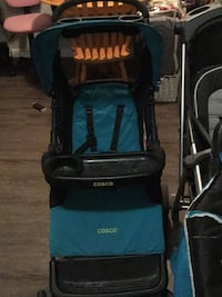 baby's black and blue stroller Calgary, T2A 5R6