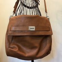 Brown leather Michael Kors laptop bag Allendale, 07401