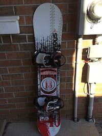 white and red snowboard Barrie, L4N 7X5