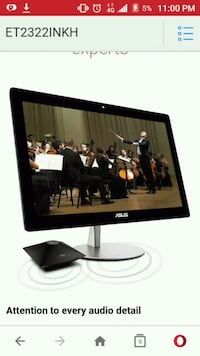 "Asus 23""  HD all-in-1 PC $1198 msrp"