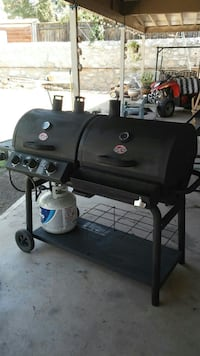 Chargriller duo combo grill