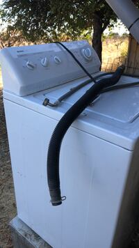 White front-load clothes washer Hollister, 95023