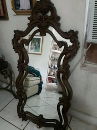 two brown wooden framed mirrors Miami, 33127