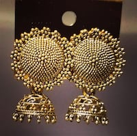 Small jhumki earrings Toronto, M9W 7J5