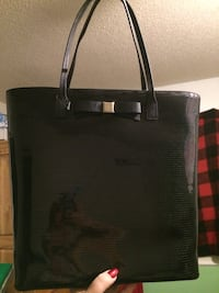 Beautiful, brand new Kate Spade black glitter tote bag  Gatineau, J8Y 3P2