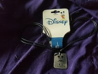 silver Mickey Mouse pendant necklace O'Fallon, 62269