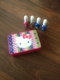girl's assorted color nail lacquers HELLO KITTY Toronto, M4G