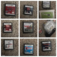Assorted nintendo ds game cartridges Regina, S4S