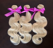 #613 Blonde Remy Human Hair