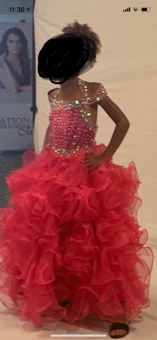 Pageant dress- size 10/12 2