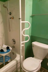 Stander Security Pole & Curve Grab bar  Alexandria, 22304