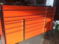 orange and black tool chest Herndon, 20170