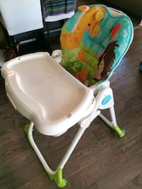 Fully adjustable high chair