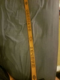 black and yellow The North Face pants Des Moines, 50320